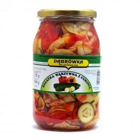Sałatka warzywna z cukini 880 g