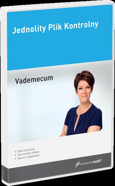 Jednolity Plik Kontrolny - vademecum (e-lic.)