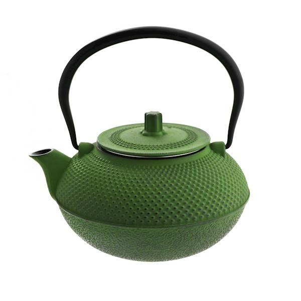 ŻELIWO-żeliwny czajniczek w stylu japońskim 1,5l zielony