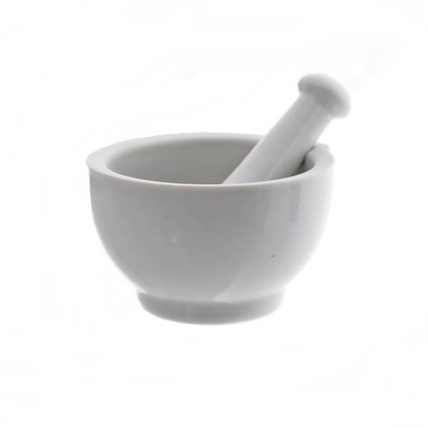 Porcelana- Moździerz kuchenny porcelanowy z tłuczkiem, 10,5cm / Ceramic mortar 10,5 cm 8712477015624 / 23461432