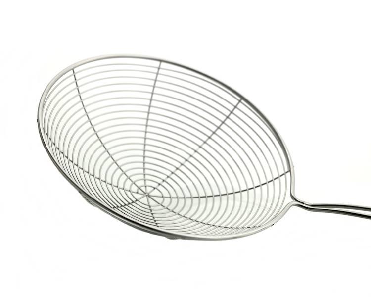 Stalowa szumówka łyżka cedzakowa 15x37cm / Stainless steel strainer 15 cm 8712442128205 / 22092624
