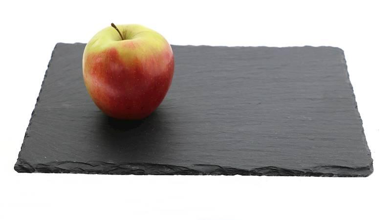 Łupek kamienny- Podstawka/taca do serwowania dań, czarna, 20x30cm / Stone trivet 20x30cm 8712442090748 / 23464665