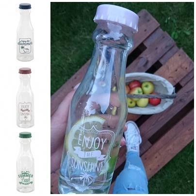 Plastikowa Butelka 3 kolory, 500ml / Plastic water bootle w/print 7,2x23cm 8712442134510 / 24531811