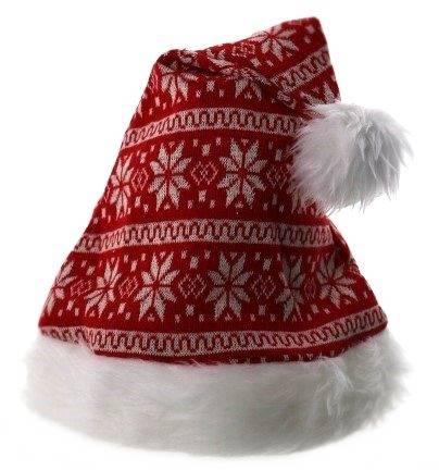 XMAS Czapka Świętego Mikołaja, uniwersalna / XMAS Santa hat white and red 23099420 8712442142140