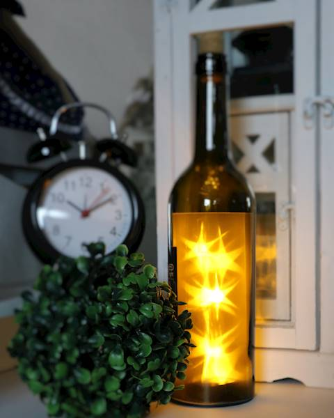 LED Butelka 1l, 3 kolory, 31cm / LED Wine Bottles 3 colours 8712442121640 / 23144007