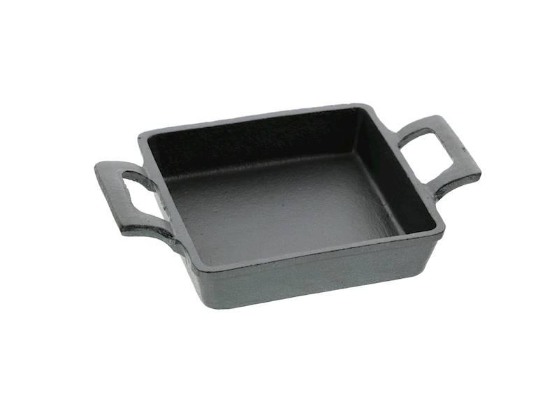 ŻELIWO-żeliwne naczynie do serwowania dań 12,8x3,3cm
