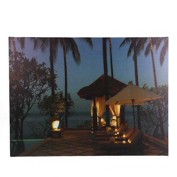 LED Obraz 40x30 krajobraz / MARINE LED image Holiday 6 LEDs 8712442968757