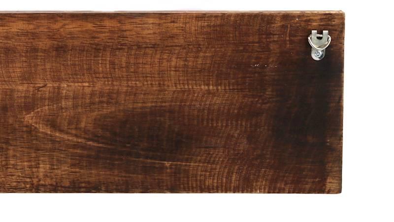 Drewniany wieszak na ubrania z napisem, 40x15x5cm, 3 wzory