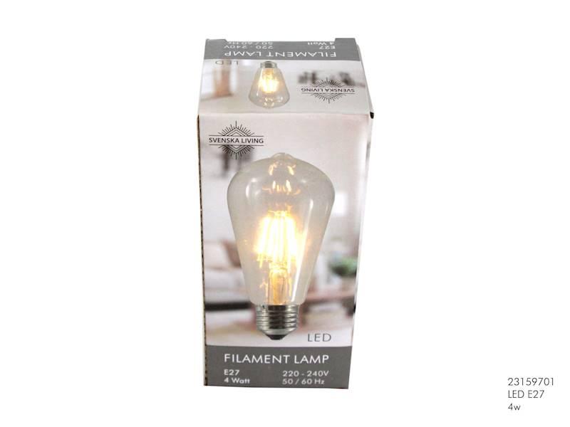 LED Żarówka E27 4W