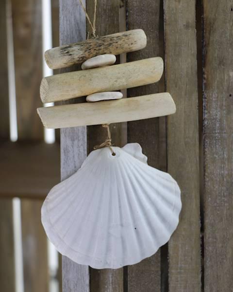 MARINE Zawieszka dekoracyjna, naturalna, 2 wzory / MARINE Deco Natural pendant, 2 pattern, 30098 4047096300986