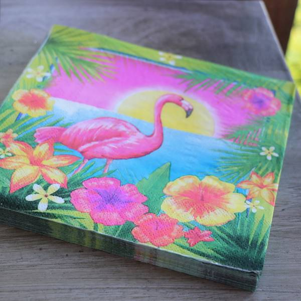 Flamingo, serwetki papierowe 20 sztuk