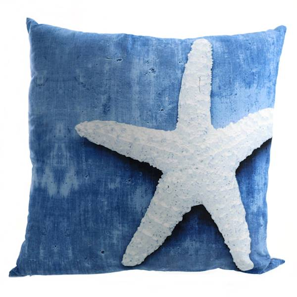 MARINE, dekoracyjna poduszka, rozgwiazda lub plaża, 45x45 cm / MARINE Deco material pillow maritime 4047096782263