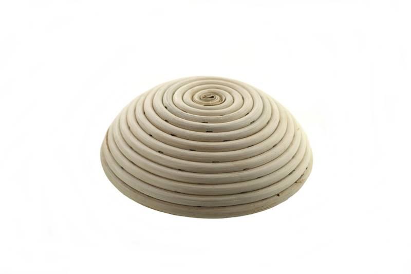Ratanowy koszyk do garowania chleba okrągły 19 cm / MPL Natural rattan breadform ROUND 19 cm  / 5901497717608