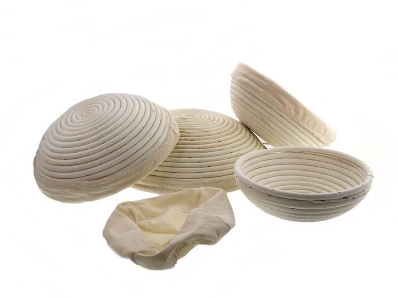 Ratanowy koszyk do garowania chleba okrągły 25 cm / MPL Natural rattan breadform ROUND 25 cm / 5901497717622