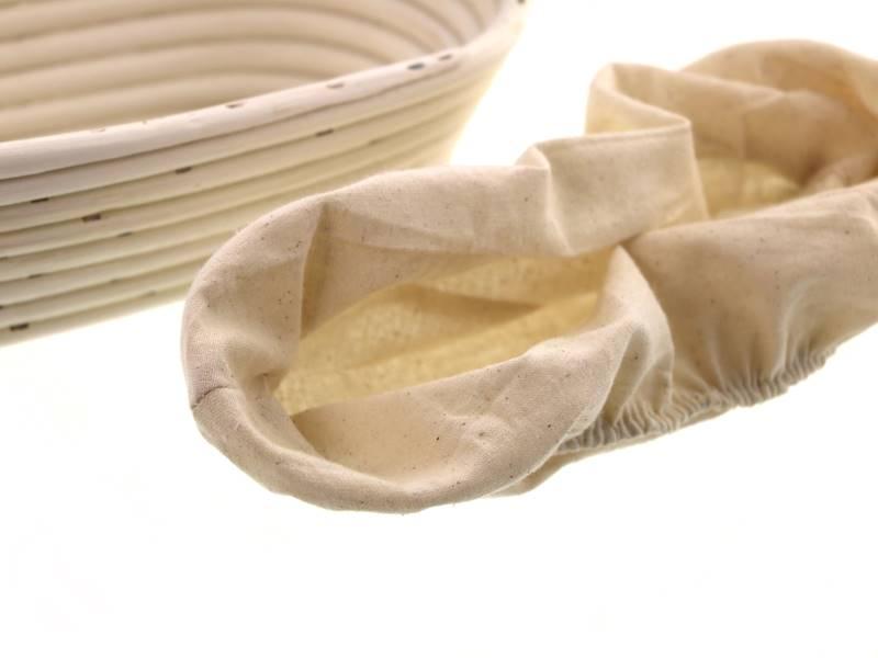 Ratanowy koszyk do garowania chleba owalny 26 cm / MPL Natural rattan breadform OVAL 26 cm / 5901497717639