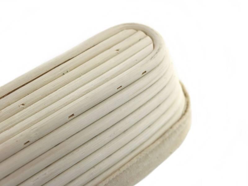 Ratanowy koszyk do garowania chleba owalny 42,5 cm / MPL Natural rattan breadform OVAL 42,5 cm  / 5901497717653