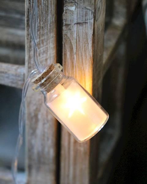 Lampki ledowe buteleczki 6 diod