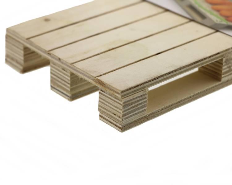 Drewniana minipaletka 20x12x3cm / Wooden pallet tray 20x12x3 cm 8712442157205 / 24500866