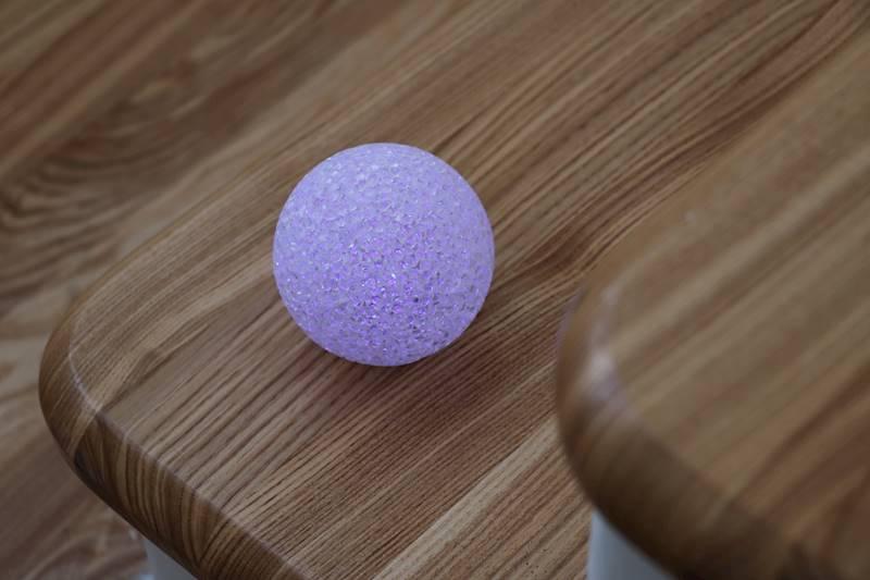 Ledowa kula silikonowa 8cm światło kolorowe