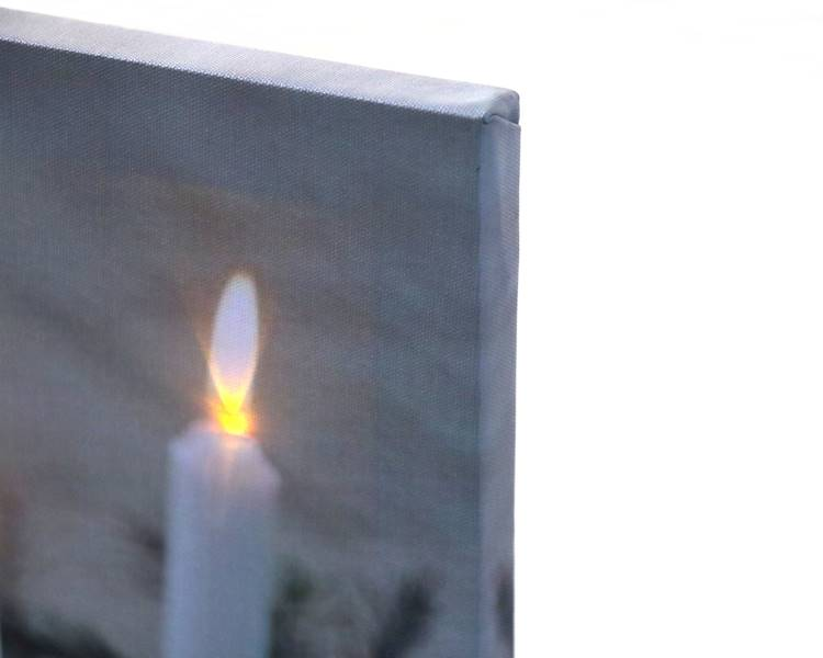 LED świąteczny obraz 30x40 cm  WZORY / LED Canvas 30x40cm assorted 8712442042211 / 23140982