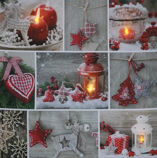 LED świąteczny obraz 30x30 cm  / LED Canvas 30x30cm 8712442914297 / 23140973