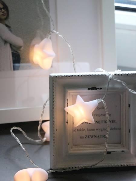 Lampki ledowe gwiazdki 10 diod / LED Star/Tree pvc 10 pcs warm light 8712442167693 / 23121224