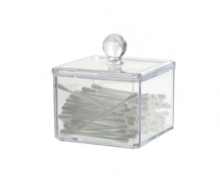 Bathroom Beauty Box square 9,5x9,5x10 cm 24530869
