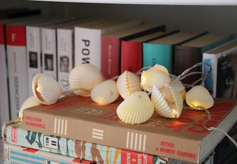 Lampki ledowe muszelki 10 szt / LED SUMMER shell double, warm 10 pcs 8712442952305 / 23362260