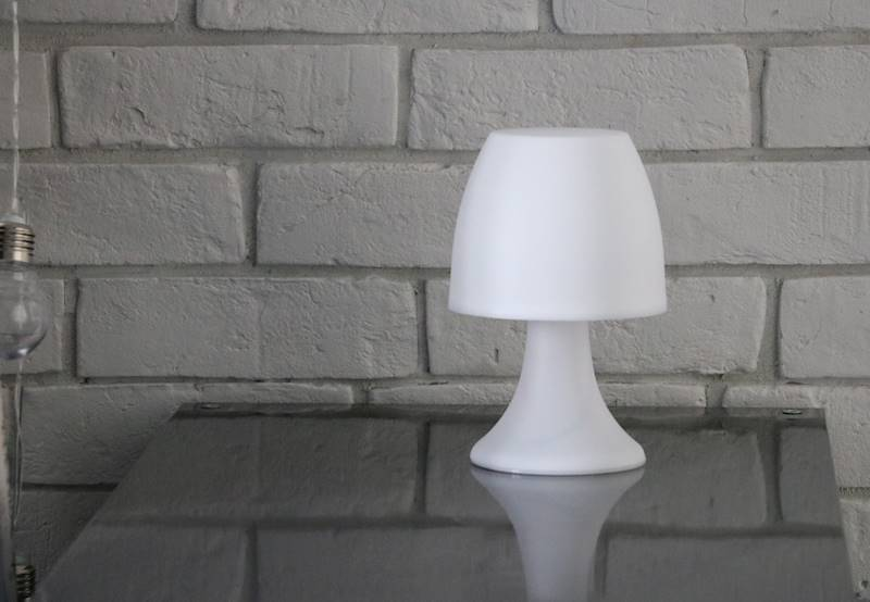 LED Table lamp 20cm ass cl 23363463 MIX