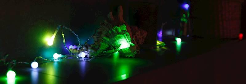 Lampki ledowe kulki zmieniające kolor 20 szt / LED Ball 20 pcs colorchange 8712442149767 / 23121398