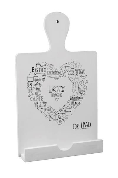 Dekoracyjna podstawka kuchenna na książkę kucharską/iPad / Deco Kitchen IPAD stand BI0124 5901466817810
