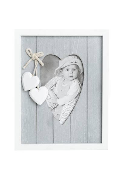 Ramka na zdjęcie drewniana / Frame BL0033/ Ramka grey white 5901466825433