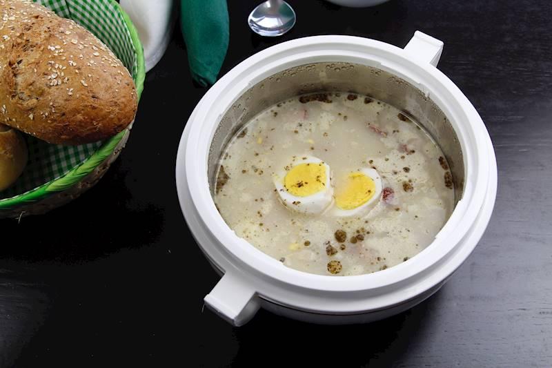 GRILL Waza Termiczna do marynowania, zup, sałatek 3,5l / Termo lunch box 3,5L Victorian / 8902330113301