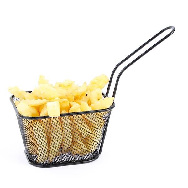 Stainless French fries bascet 22275570 BLACK RECT