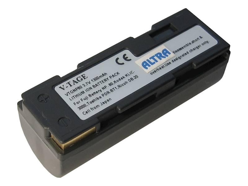 AKUMULATOR ZOOM NP80 /KLIC 3000   3,7V/1300  (FUJ)