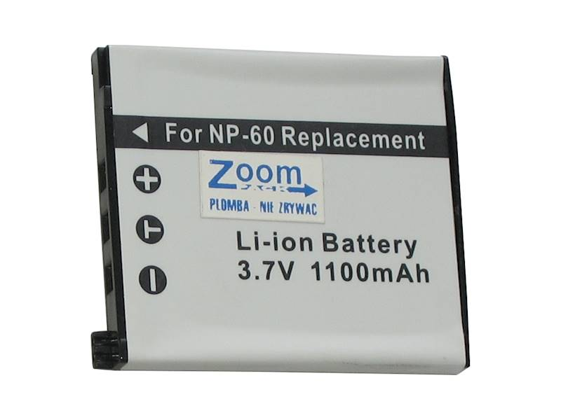 AKUMULATOR ZOOM NP-60 1100mAh           (do CASIO)