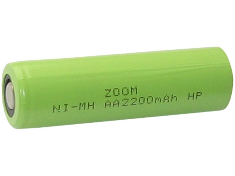 Akumulator ZOOM AA 1,2V 2200mAh Ni-Mh HP  4,4A