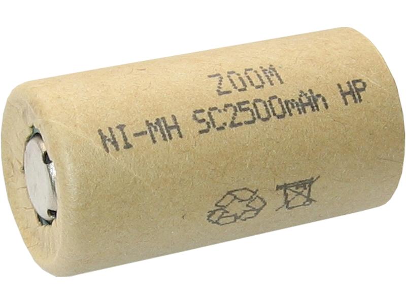 Akumulator ZOOM Sub_C 1,2V 2500mAh Ni-Mh HP  25A