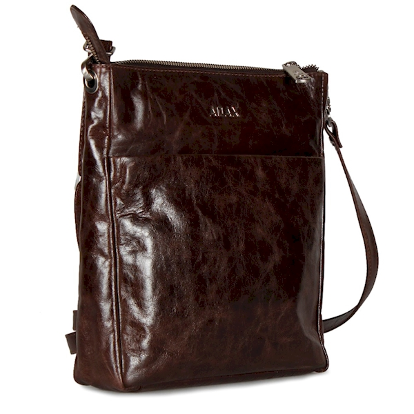 ADAX TOREBKA SALERNO CROSSBODY TANJA 226769 DARK BROWN