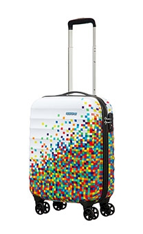 AMERICAN TOURISTER WALIZKA 02G05001 PALM VALLEY SPINNER 55/20 PIXELWHITE