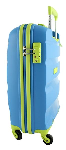 AMERICAN TOURISTER WALIZKA BON AIR  S 85A21001 BLUE/LIME LIMITOWANA EDYCJA KOLORU