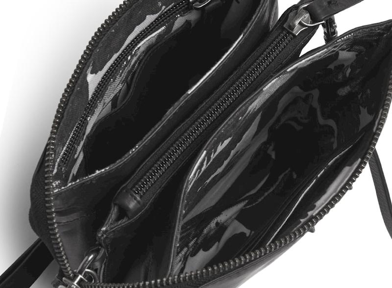 ADAX TOREBKA 694161 SUNDAY SHOULDER BAG BLACK
