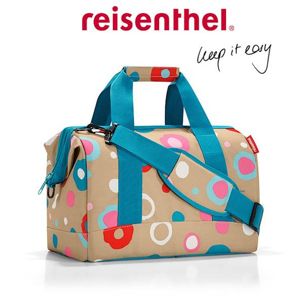 REISENTHEL  RMS6034 TORBA ALLROUNDER M FUNKY DOTS 1