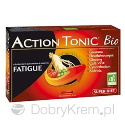 SUPER DIET Action Tonic Witalność 20 x 15 ml