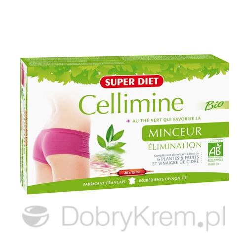 SUPER DIET Cellimine Slimming suplement 20 x 15 ml