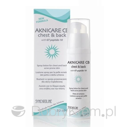 AKNICARE CB Chest & Back spray 100 ml