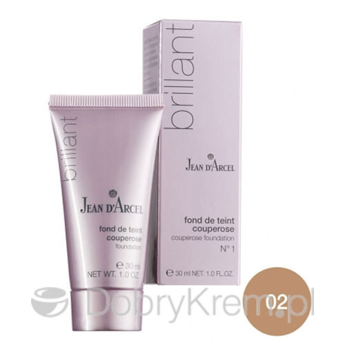 Jean D'Arcel Sensitive Fluid Couperose nr 2 30 ml