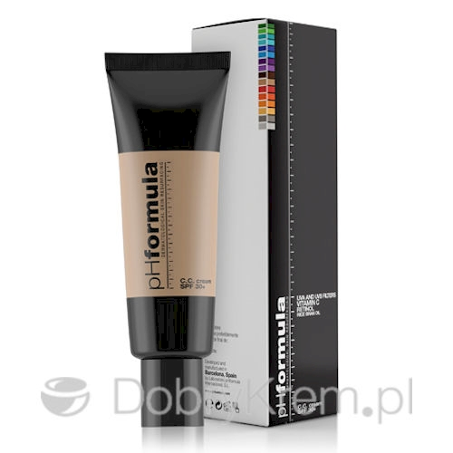 pHformula CC cream SPF 30+ light 50 ml