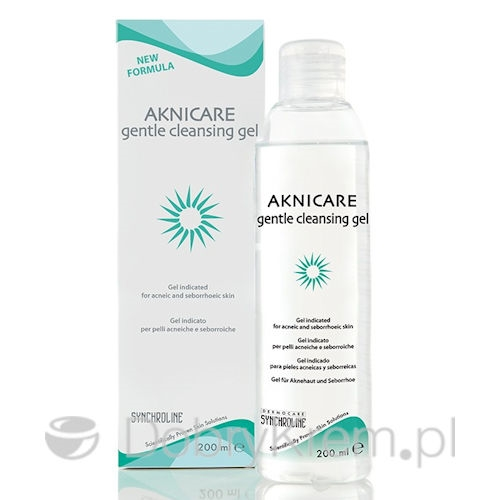 AKNICARE gentle cleansing gel 200 ml