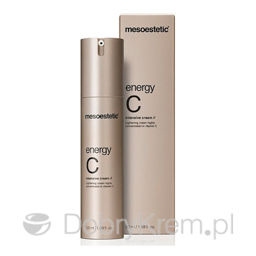 MESOESTETIC energy C face cream rozświetl 50 ml